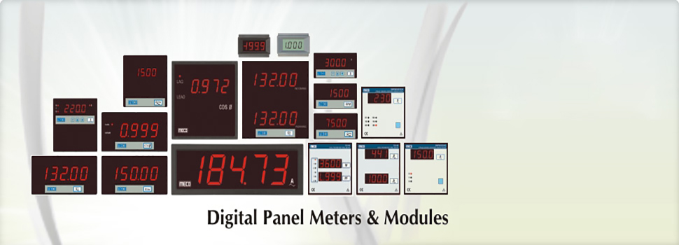 Digital Panel Meters & Modules