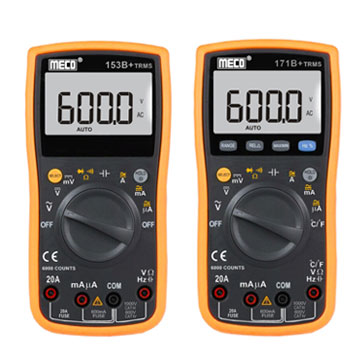 3 - 5/6 Digits 6000 Counts Autoranging Digital Multimeter - TRMS