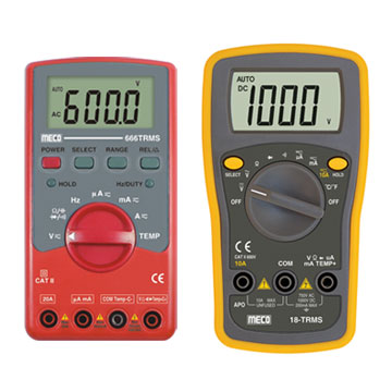 3-1/2 Digits 2000 Counts Autoranging Digital Multimeter - TRMS