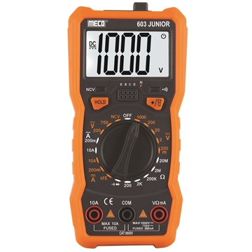 3 1/2 Digits 2000 Counts Manual Ranging Digital Multimeter