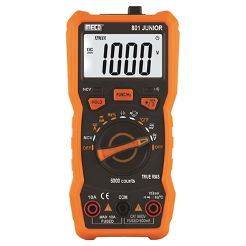 3 5/6 Digits 6000 Counts Auto Ranging Digital Multimeter - TRMS
