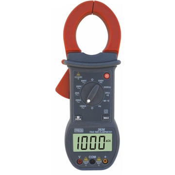 3-1/2 Digit 2000 Count 1000A AC TRMS Digital Clampmeter with Peak Hold Function
