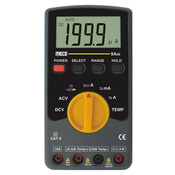 3-1/2 Digit 2000 Count Autoranging Digital Multimeter