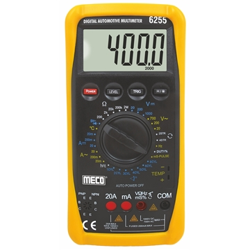 3-1/2 Digits 2000 Counts Digital Multimeter with Automatic Terminal Blocking
