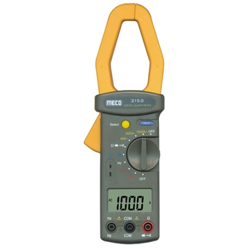 3-3/4 Digit 4000 Count 1000A AC Auto Ranging Digital Clampmeter with Frequency