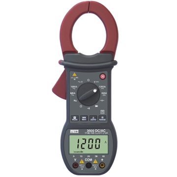 3-3/4 Digit 4000 Count 1200A DC / 1000A AC TRMS Digital Clampmeter with Bargraph, Peak Hold, Max / Min & Delta Zero