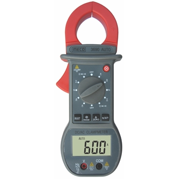 3-3/4 Digit 4000 Count 600A DC / AC Digital Clampmeter with Delta Zero Button
