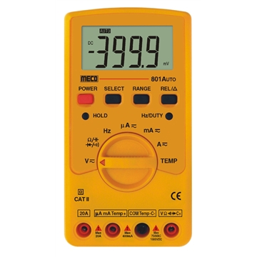 3-3/4 Digit 4000 Count Autoranging Digital Multimeter