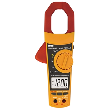 3-5/6 Digit 6000 Count 1200A DC / AC TRMS Digital Clampmeter with Temperature & Frequency