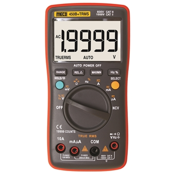 4-1/2 Digit 19999 Count TRMS Autoranging Digital Multimeter