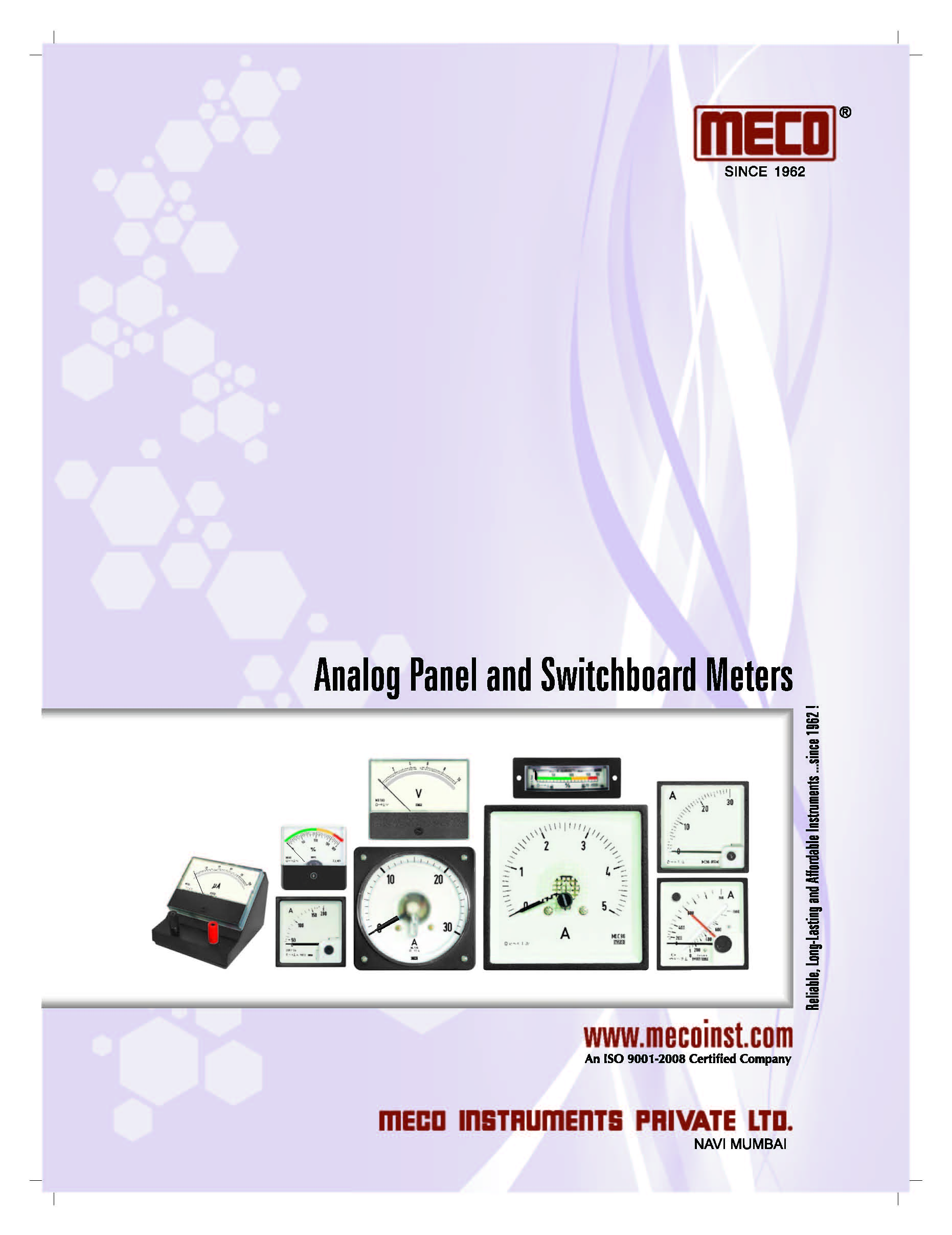 Analog Panel and Switchboard Meters - Introduction
