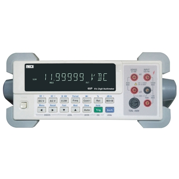 6½ Digit 12,00,000 Counts Bench Top Digital Multimeter - TRMS