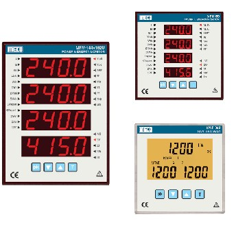 3 Phase Multifunction Power & Energy Meter / Power Line Supervisor - TRMS