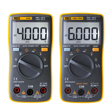 Digital Autoranging Multimeters (Pocket Size)