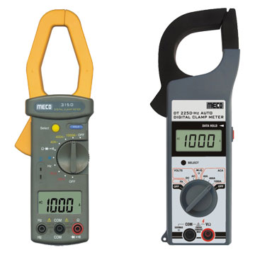 Digital Clampmeters & Accessories - 1000A AC