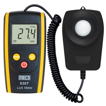 Digital LUX Meter with Flexible Sensor