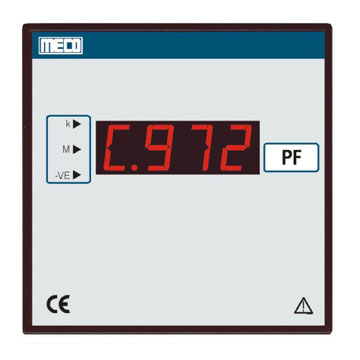 Digital Power Factor Meter - TRMS (with Built-In Transducer) - TRMS