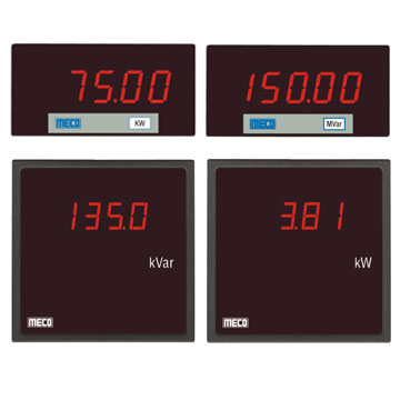 Digital Wattmeter / Varmeter (with Built-in Transducer)