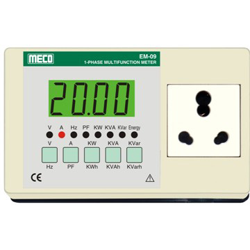 Energy Meter : 1 Phase Multifunction Appliance Meter - TRMS