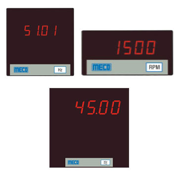 4 & 5 Digit Digital Frequency Meter / 4 Digit RPM Meter