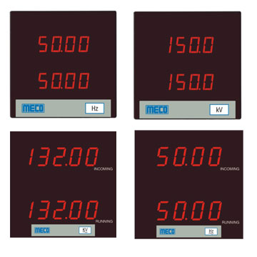 Double Voltmeter / Double Frequency Meter