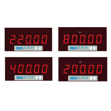 5 Digit Programmable Voltmeter / Ammeter- DC / AC TRMS with RS 485 Port