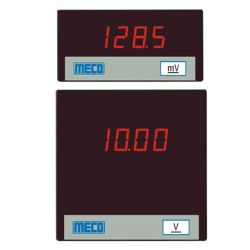 3½ Digital Ammeter and Voltmeter (5V DC Aux. Supply)