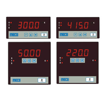 3 Phase Progrmmable Ammeter / Voltmeter - TRMS